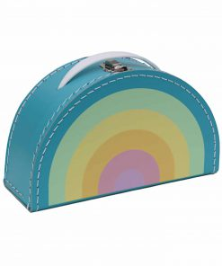 Koffer Rainbow/Regenbogen pastell, Kids Boetiek