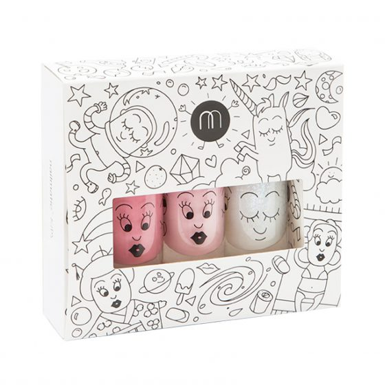 Kindernagellacke 3er Set Cookie Bella Super, Nailmatic