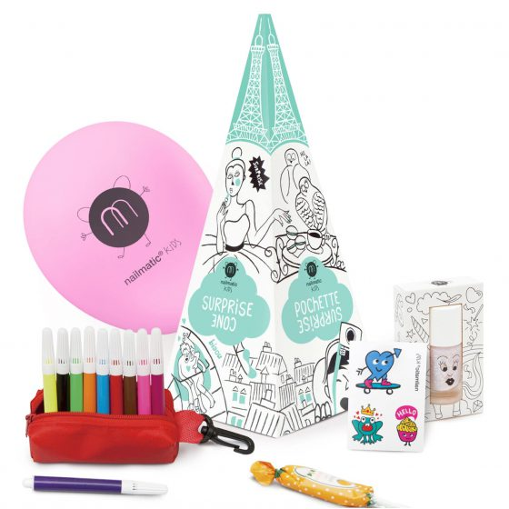Kindernagellack Geschenk-Set/Party-Set Paris, Nailmatic