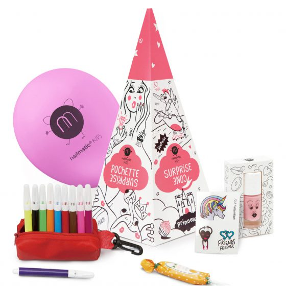 Kindernagellack Geschenk-Set/Party-Set Princess, Nailmatic