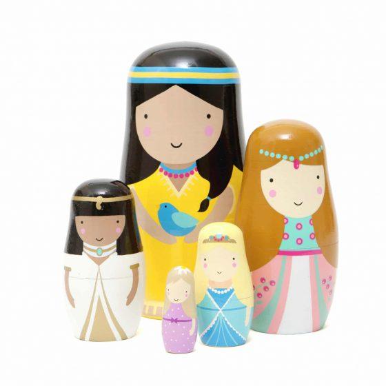 Matrjoschka/Nesting Dolls Princess/Prinzessin, Psikhouvanjou