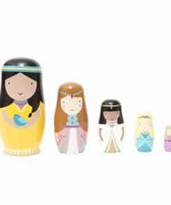 Matrjoschka/Nesting Dolls Princess/Prinzessin, Psikhouvanjou/Petit Monkey