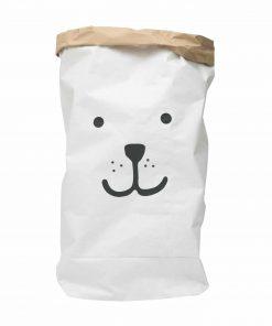Aufbewahrungssack Papier Bear/Bär, Tellkiddo
