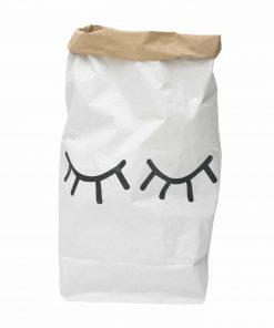 Aufbewahrungssack Papier Closed Eyes/Augen, Tellkiddo