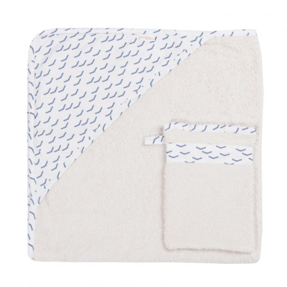 Kapuzen-Handtuchh&Waschlappen Flock, Trixie Baby
