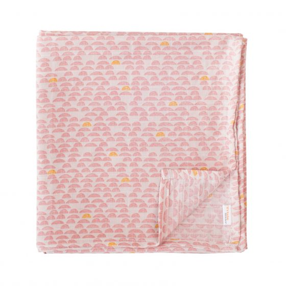 Mulltuch/Swaddle Pebble Pink, Trixie Baby