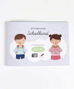 Album Einschulung/Schule, Vierundfünfzig Illustation