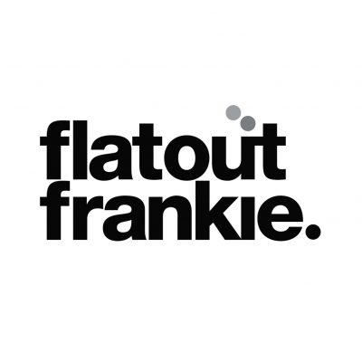 flatout frankie logo peanut