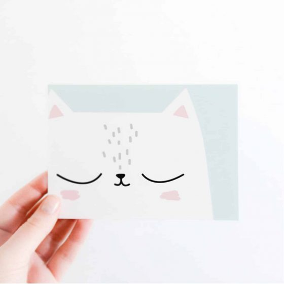 Karte Katze, Hello Hemmi