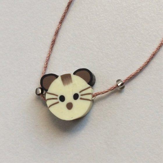 Wunscharmband für Kinder Katze, Mara