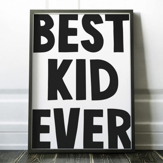 Poster best kid ever, whatevershop