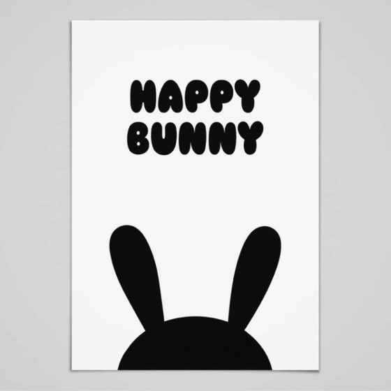 Poster Happy Bunny, whatevershop