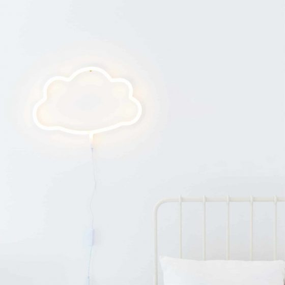Neon Lampe Wolke, a little lovely company