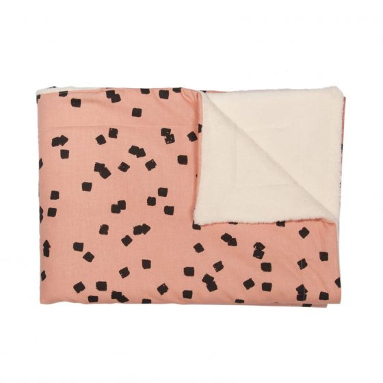 Fleece-Decke Squares, Trixie Baby