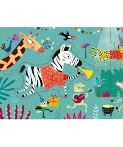 Puzzle My Jungle Dschungel Tiere, Londji