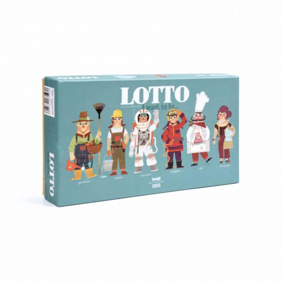 Spiel I want to be Berufe Lotto, Londji