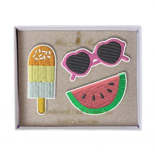 Set Brosche Party Sommer Eis Melone, Meri Meri