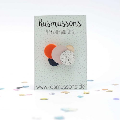 Brosche Bubbles, Rasmussons