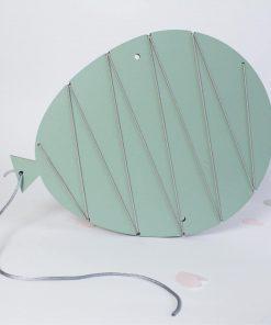 Klemmbrett Luftballon Mint, Rasmussons