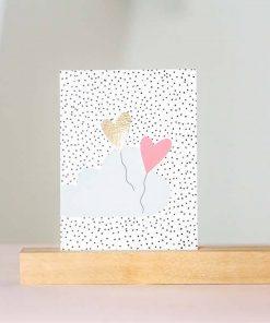 Postkarte Herzen, Rasmussons