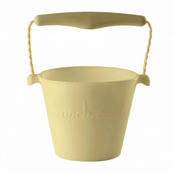 Scrunch bucket Sandeimer Silikon gelb, Scrunch