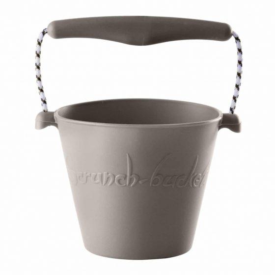 Scrunch bucket Sandeimer Silikon grau, Scrunch
