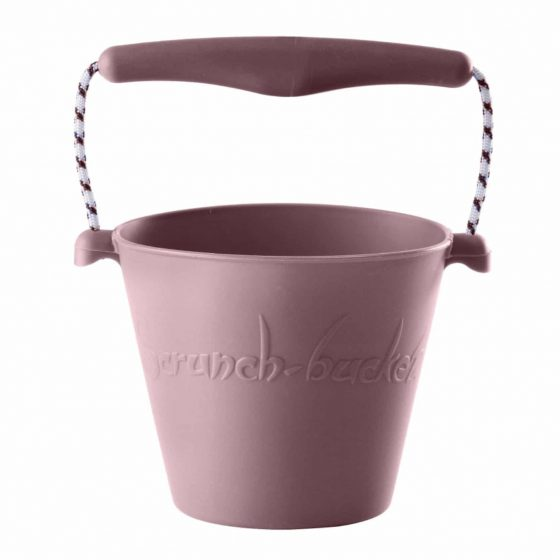 Scrunch bucket Sandeimer Silikon rosa, Scrunch