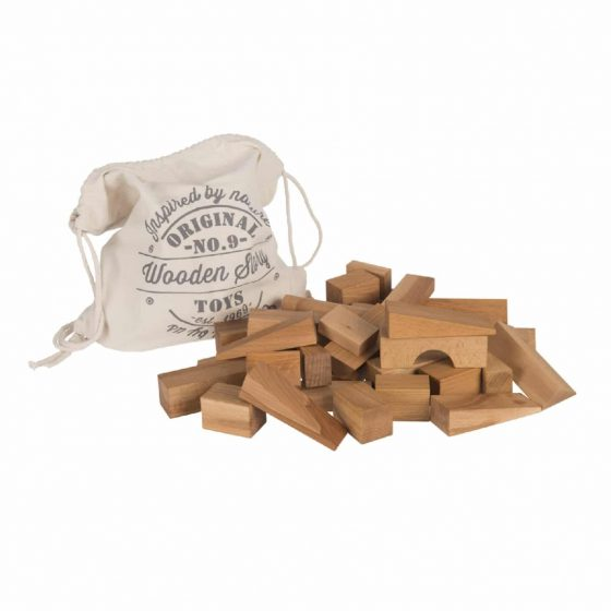 Holzbausteine natur, Wooden Story