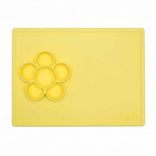 Silikon Bastelunterlage Play Mat gelb, ezpz