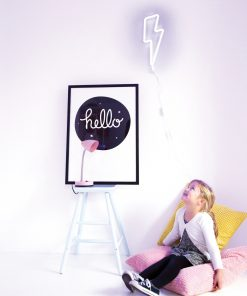 Neon Lampe Blitz Blau, a little lovely company