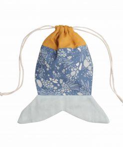 Beutel/Tasche Meerjungfrau Ocker, Fabelab