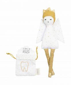 Puppe Zahnfee & Beutel erste Zähne / Tooth Fairy, Fabelab