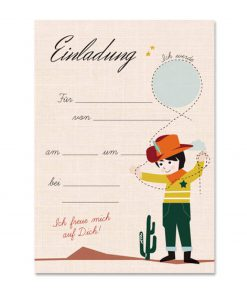 Einladungskarten Set Geburtstag/Kindergeburtstag Junge, life is delicious