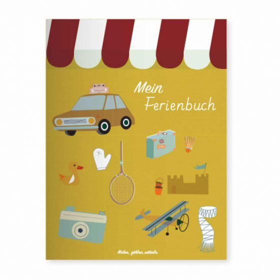 Mein Ferienbuch Malbuch, life is delicious