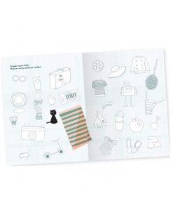 Mein Ferienbuch Malbuch, life is delicious