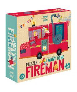 Puzzle Feuerwehr, Londji