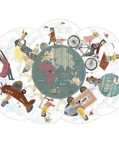 Puzzle Around my Planet beidseitig, Londji