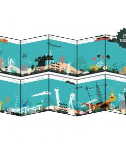 Stickerbuch/Stickerposter Meer/Unter Wasser, Makii