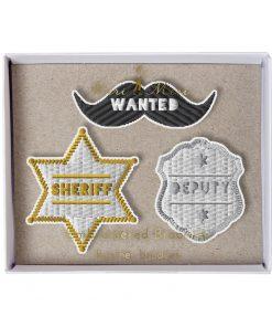 Brosche Sheriff Bart, Meri Meri