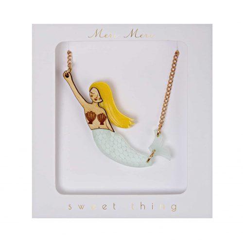 Halskette Meerjungfrau Mermaid, Meri Meri