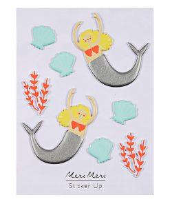 Sticker Mermaid Meerjungfrau, Meri Meri
