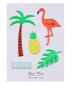 Sticker Tropical Flamingo, Palme, Ananas, Aloha, Meri Meri