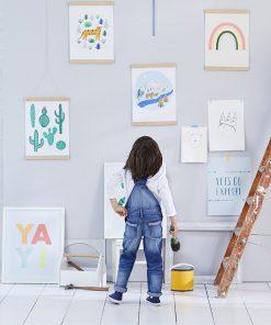 Klemmrahmen Bilderleiste Holz für Poster, Meri Meri