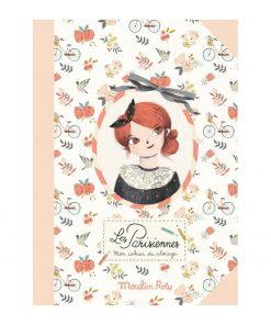 Malbuch Les Parisiennes für Mädchen, Moulin Roty
