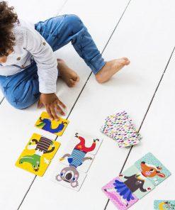 Spiel Mix&Match, Psikhouvanjou/Petit Monkey