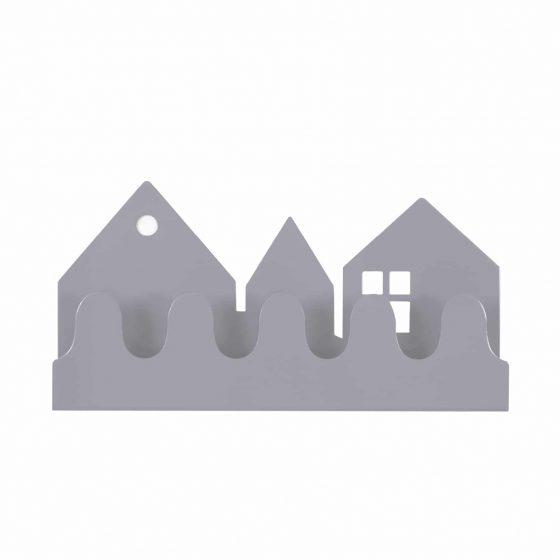 Garderobe/Hakenleiste Village Grau, Roommate