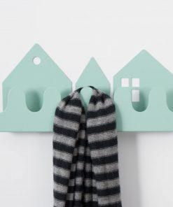 Garderobe/Hakenleiste Village Pastell-Blau, Roommate