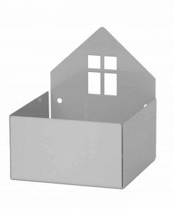 Aufbewahrungsregal/Box Haus Pixi Grau, Roommate
