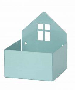 Aufbewahrungsregal/Box Haus Pixi Pastell-Blau, Roommate