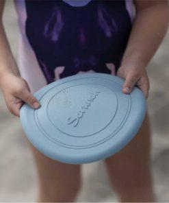 Flexibles Frisbee aus Silikon pastell-blau, Scrunch Bucket